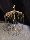 Appearing Golden Bird Cage